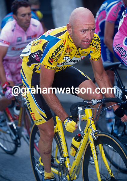 Marco Pantani in the 2003 Giro d'Italia