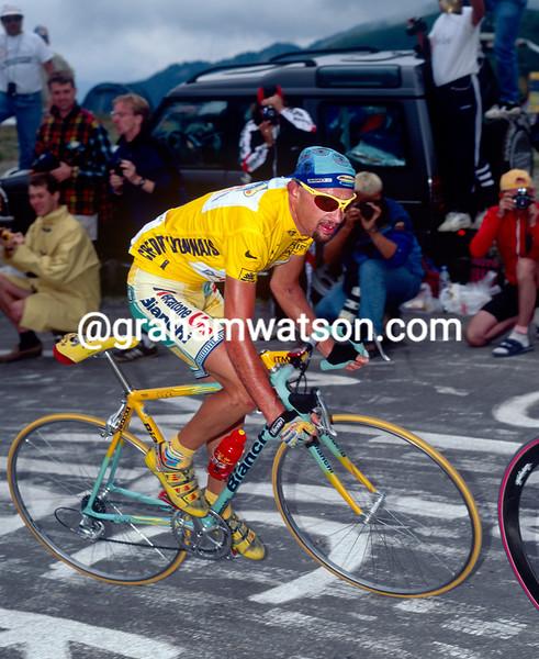 Marco Pantani in the 1998 Tour de France