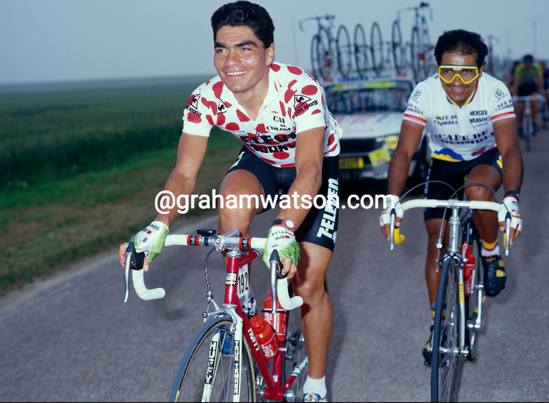 Raul Alcala in the 1987 Tour de France
