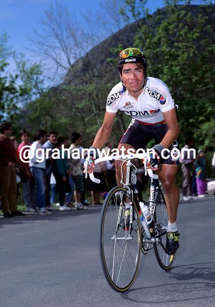 Raul Alcala in the 1990 Vuelta a España