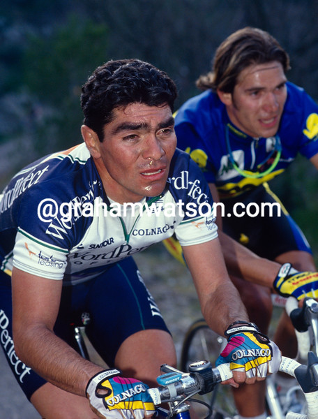 Raul Alcala in the 1991 Ruta del Sol