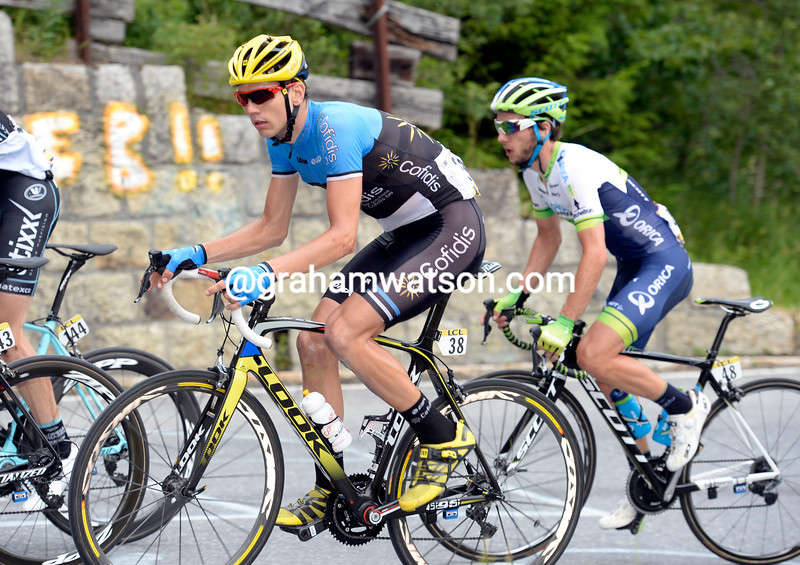Rein Taaramae on stage seven of the 2014 Dauphine-Libere