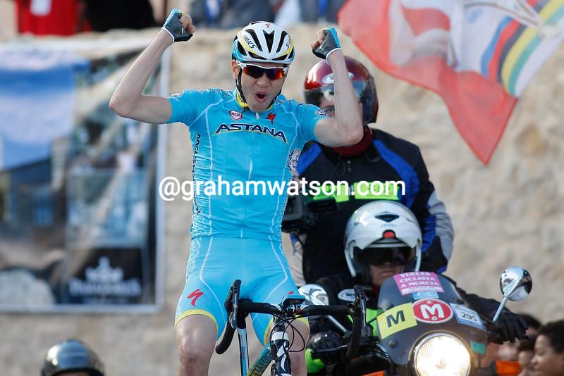 Rein Taaramae wins the 2015 Vuelta Ciclista a Murcia