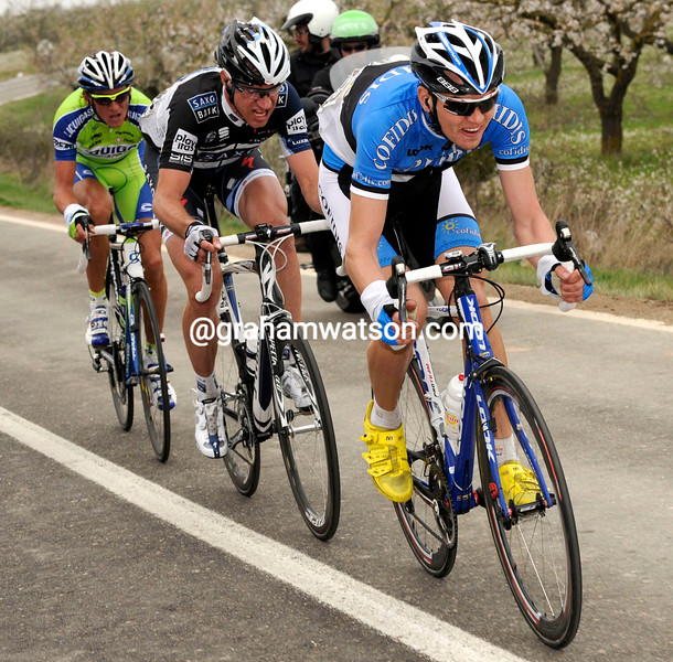 REIN TAARAMAE IN THE 2010 TOUR OF CATALONIA