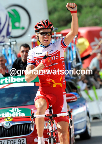REIN TAARAMAE WINS STAGE 14 OF THE 2011 TOUR OF SPAIN