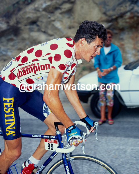 Richard Virenque in the 1997 Tour de France