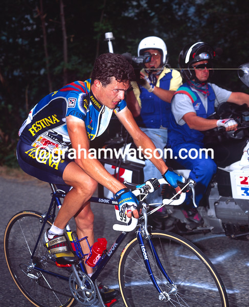 Richard Virenque in the 1994 Tour de France