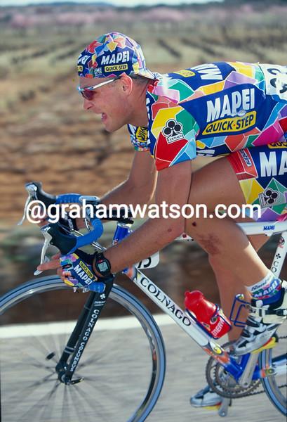 Robert Hunter in the 2002 Tour of Spain