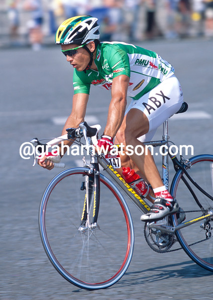 Robbie McEwen in the 2001 Tour de France