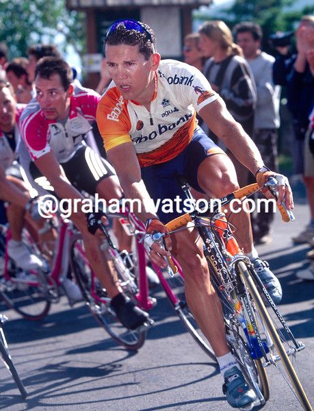 Robbie McEwen wins a stage in the 1999 Tour de France