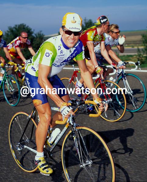 Robbie McEwen in the 1999 Ruta del Sol
