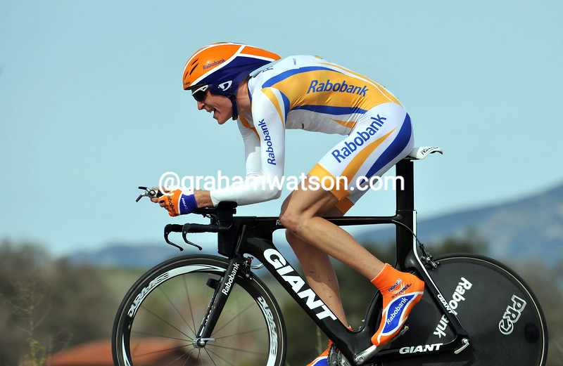ROBERT GESINK ON STAGE SIX OF THE 2009 TOUR OF CALIFORNIA