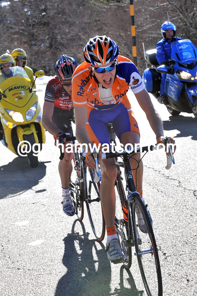 ROBERT GESINK ON STAGE FOUR OF THE 2008 PARIS-NICE