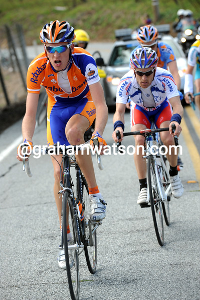 ROBERT GESINK ATTACKS ON STAGE THREE OF THE 2008 TOUR OF CALIFORNIA