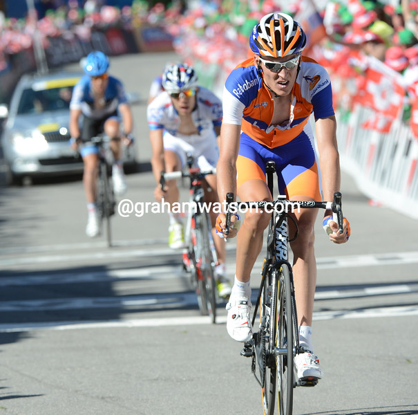 Robert Gesink on stage eight of the 2012 Tour de Suisse