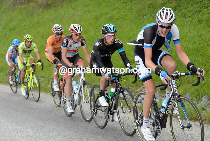 Robert Gesink in the 2013 Tour de Romandie