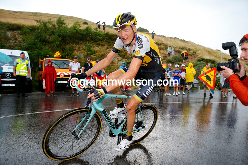 Robert Gesink in the 2015 Tour de France