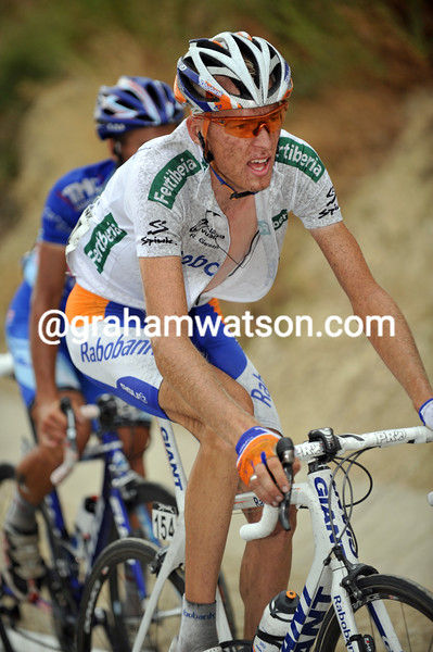 ROBERT GESINK ON STAGE FOURTEEN OF THE 2009 TOUR OF SPAIN
