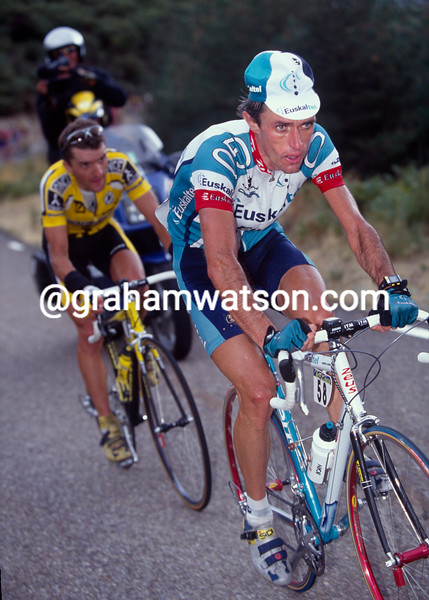 Roberto Laiseka in the 1998 Tour of Spain