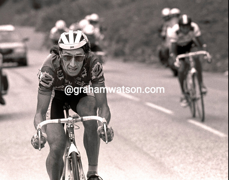 ROBERT MILLAR IN THE 1990 DAUPHINE LIBERE