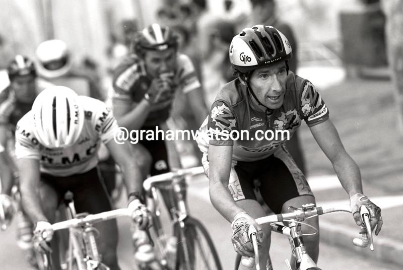Robert Millar in the 1991 Giro di Lombardia