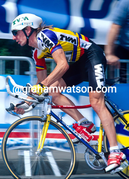 Robert Millar in the 1993 Tour de France