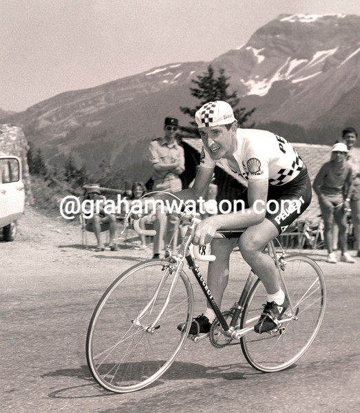 ROBERT MILLAR IN THE 1983 TOUR DE FRANCE