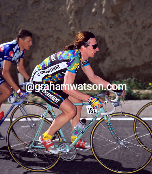Robert Millar in the 1995 Ruta del Sol
