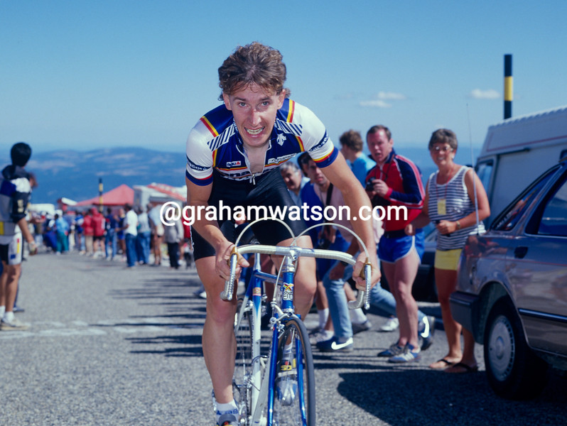 Robert Millar at the 1987 Tour de France