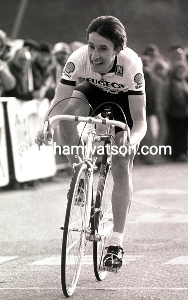 ROBERT MILLAR in the 1984 Paris-Nice