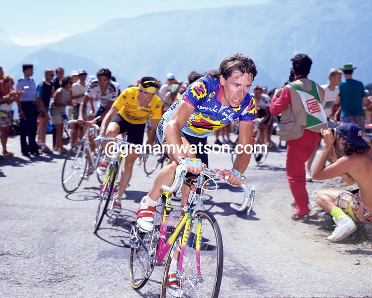 Robert Millar in the 1990 Tour de France