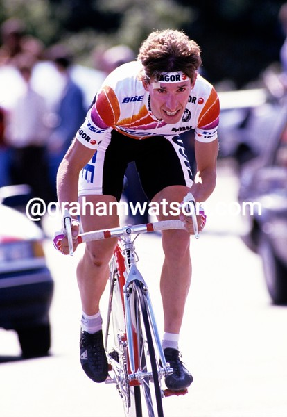Robert Millar in the 1988 Vuelta a España