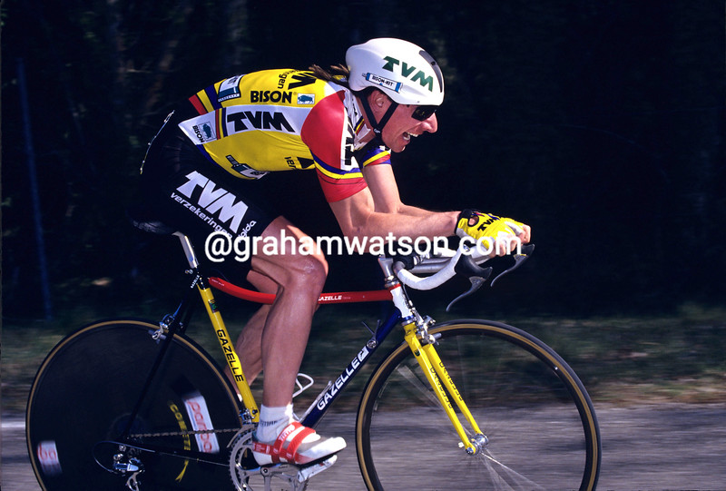 Robert Millar in the 1993 Criterium International