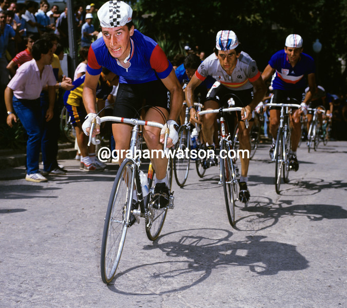 Robert Millar in the 1984 World Road Championship