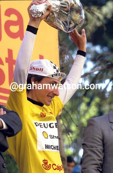 Robert Millar in the 1985 Vuelta a España