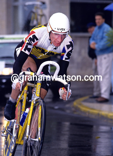 Robert Millar in the 1993 Vuelta a España
