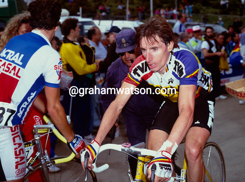 Robert Millar at the 1989 Tour of Spain