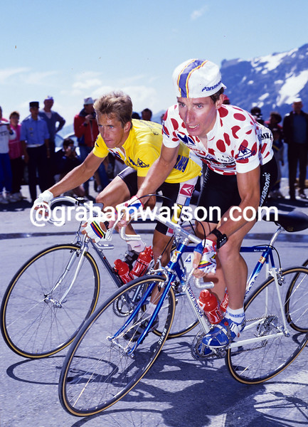Robert Millar in the 1986 Tour de France