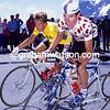 Robert Millar in the 1986 Tour de France