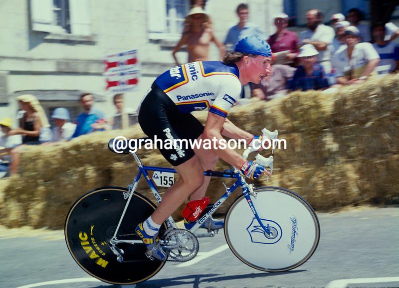 Robert Millar at the 1987 Tour de France