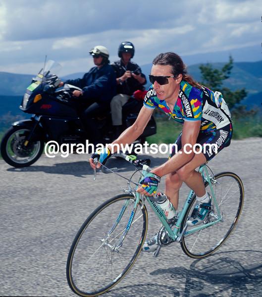 Robert Millar at the 1995 Dauphine-Libere