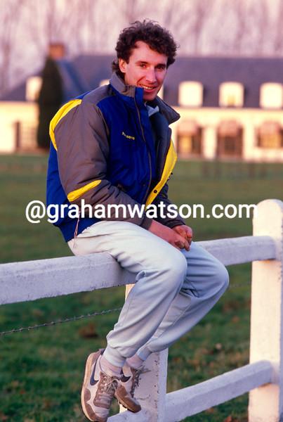 Robert Millar in 1986