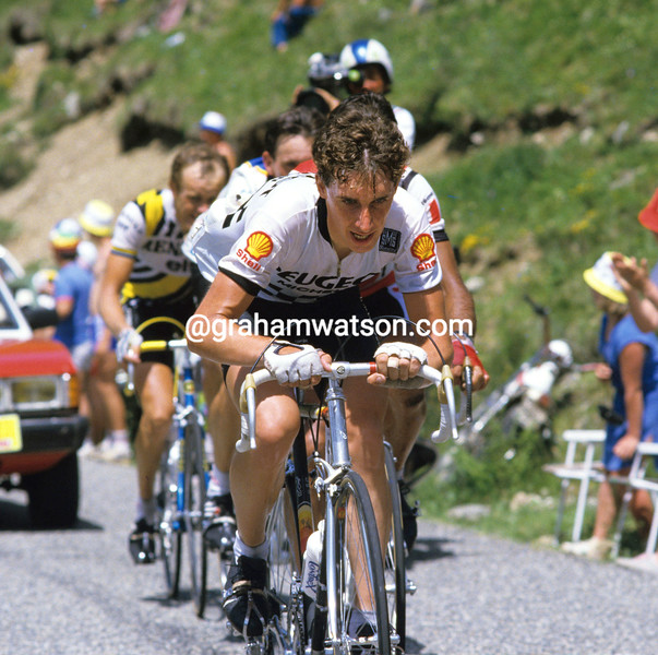 Robert Millar in the 1984 Tour de France
