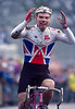 Roger Hammond wins the 1992 World Cyclo-cross championship for juniors