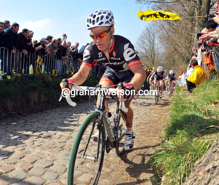 ROGER HAMMOND IN THE 2009 TOUR OF FLANDERS
