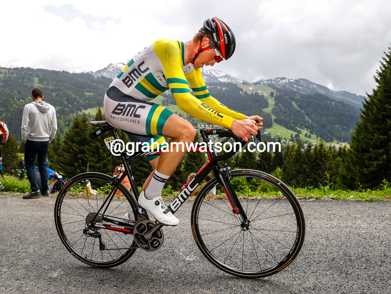 Rohan Dennis in the Prologue of the 2016 Dauphine-Libere