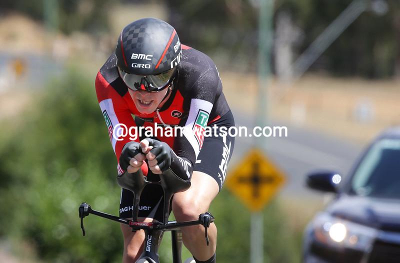 Rohan Dennis wins the 2017 Australian TT Championship in Ballarat