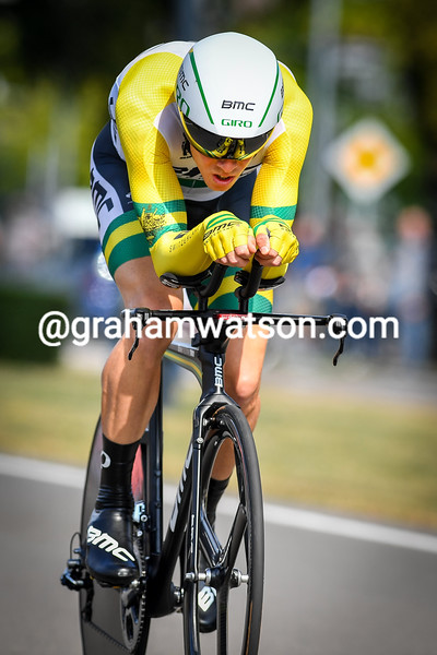 Dennis Rohan in the 2014 Eneco Tour