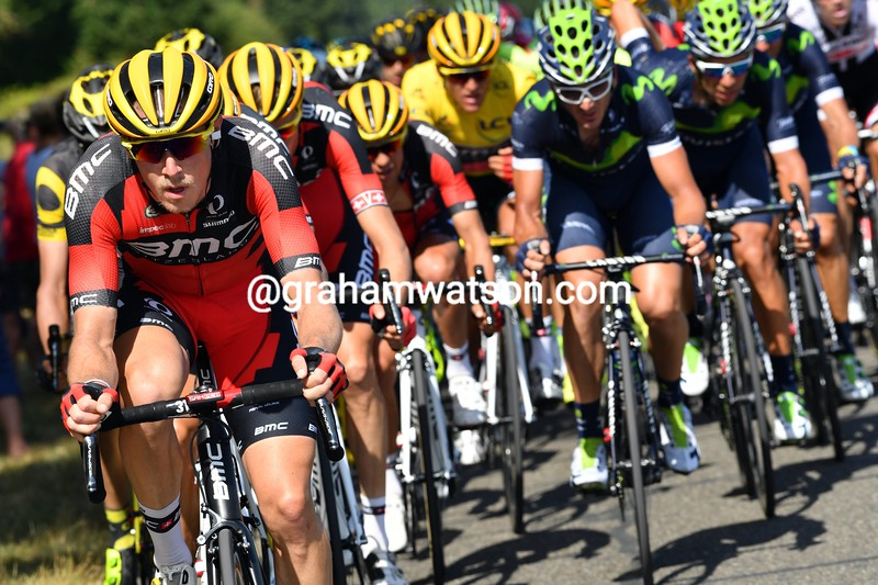 Rohan Dennis chases on stage 6 of the 2016 Tour de France