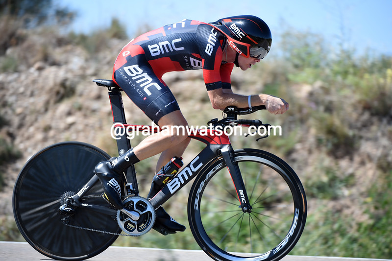 Rohan Dennis on stage ten of the 2014 Tour of Spain